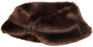 Lock & Co. Women's Merlin Faux Fur Stole: £265.