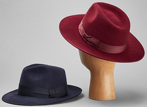 Lock & Co. men's hats - all models.