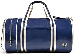 Fred Perry Classic Barrel Bag: £60.