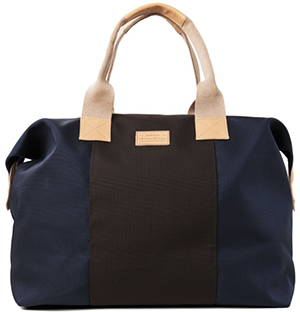 GANT men's nylon and leather bag.