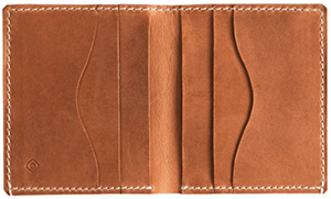 GANT men's Rugger Leather Flap Wallet: US$135.