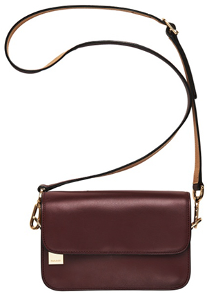 GANT women's New Haven Leather Crossbody Purse.