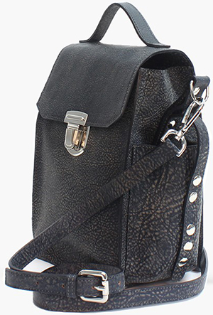Illesteva Lester Black Crossbody Bag: US$460.