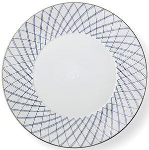 Asprey Crosshatch Place Setting: US$2,250.