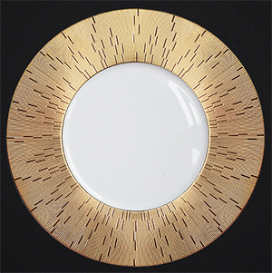 Haviland Limoges Collection Infini dinner plate.