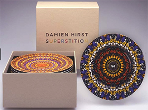 Damien Hirst Superstition Plates: US$14,000.