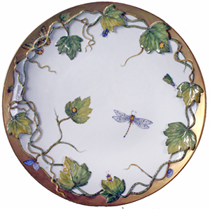 Anna Weatherley Afternoon Tea Party Large Round Platter: US$566.