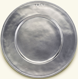 Match Pewter Luisa Charger: US$275.