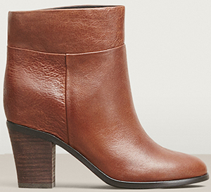 Kenneth Cole women's Allie Pebbled Leather bootie: US$199.