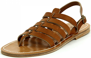 K.Jacques Saint-Tropez Homere Pul Natural Leather men's sandal: €277.89.