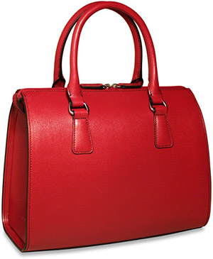 Jack Georges Chelsea Collection Diana-Satchel Bag: US$248.