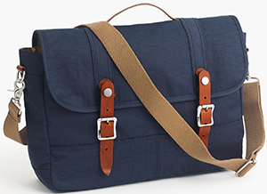 J.Crew Harwick men's Messenger Bag: US$98.
