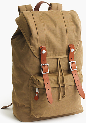 J.Crew Harwick men's Backpack: US$98.