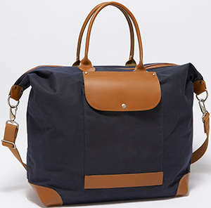 J.Press Bogie Navy men's Tote: US$177.
