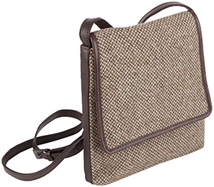 Johnstons of Elgin Crossover Bag: US$175.