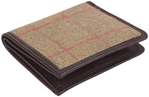 Johnstons of Elgin Tweed Card Holder: US$80.