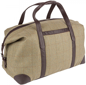 Johnstons of Elgin Tweed Holdall: US$350.