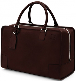 Loewe Amazona 44 Men's Bag Brown Chocolate: US$2,690.