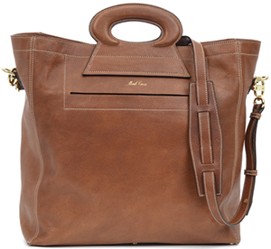 Mark Cross Vintage Tote with a Detachable Shoulder Strap: US$2,095.