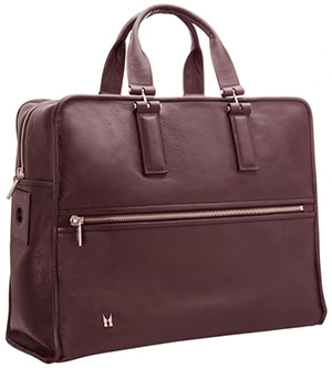 Moreschi Weekend bag - Burgundy: €950.