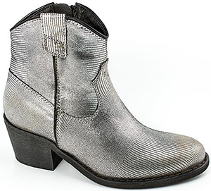 Lama Peach Fletcher Gunmetal women's leather boot.