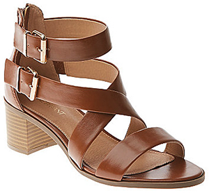 Lane Bryant Buckled Heeled women's sandal.