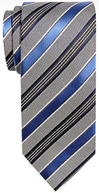 Joseph Abboud Blue Stripe Narrow Tie.