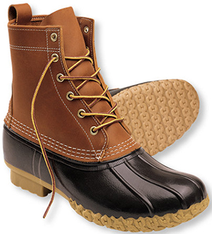 L.L.Bean men's boots: US$119.