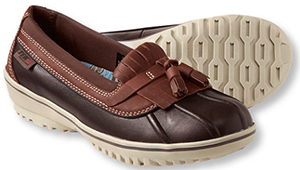 L.L.Bean women's Bar Harbor Rain Shoes: US$99.