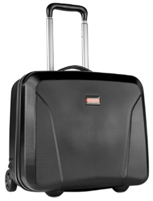 Lloyd men's black Business Trolley.