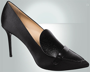 Longchamp La Baronne pumps: US$530.