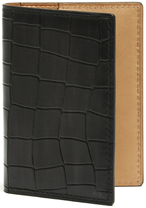 Magnanni Alligator Grey Card Folder: US$150.