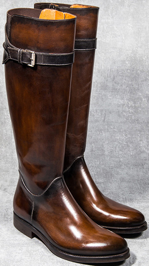 Altan Bottier Paris women's long boots.