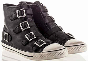 Ash Vincent Mens Sneaker Black Leather: US$225.