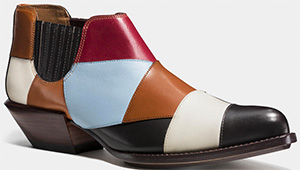 Coach women's Patchwork Bandit shoe: US$495.
