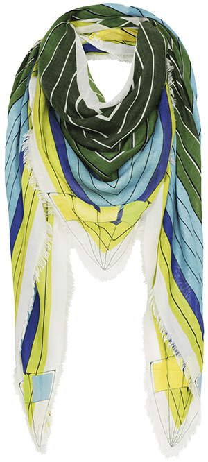 Mary Katrantzou Square Scarf: €395.