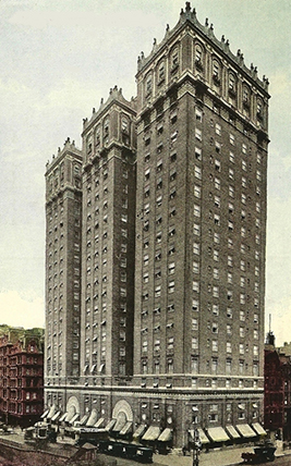 The Vanderbilt, Park Avenue at 34th Street, New York City.