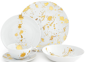 Jonathan Adler 1948° 5 piece dinner set: US$148.