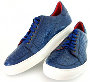 Bianca Mosca alligator sneakers: USD$1,195.