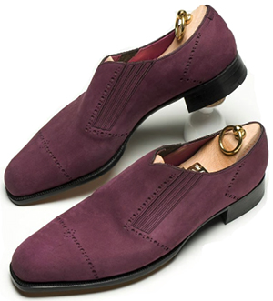Shoes made by The London Shoemaker.