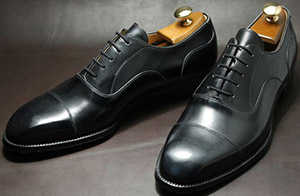 Jan Kielman Oxfords with a plain cap toe men's shoes.