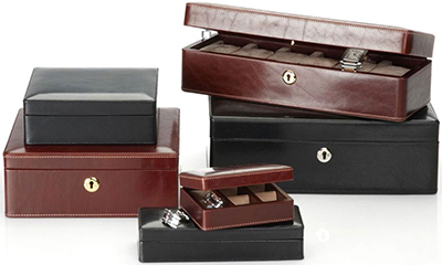 Betty Hemmings watch boxes.