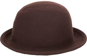 Agnès B. Brown Hat Julia: US$195.