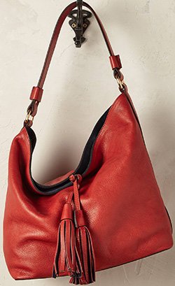 Anthropologie Terracotta Shoulder Bag: £168.