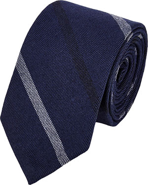 Thom Browne Diagonal-Striped Twill Necktie: US$190.