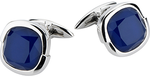 Stephen Webster Crystal Haze Round Cufflinks.
