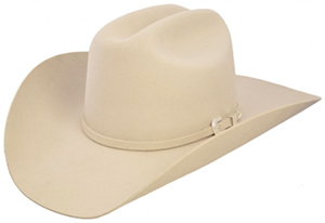 Allens Boots Adults Resistol Tarrant Silvery Belly hat: US$449.99.