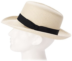Aspinal of London Foldable Men's Panama Hat.