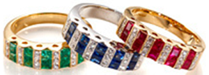Aspinal of London Fine Jewellery women's rings.