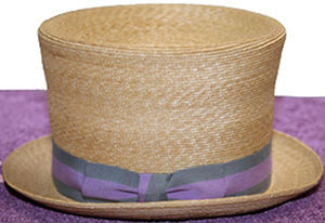 Anthony Peto women's hat.